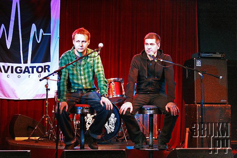 Презентация альбома Обман Зрения в клубе 16 Тонн, 08.10.2012